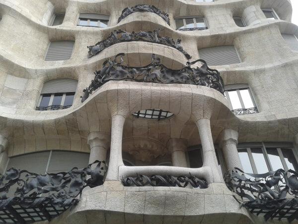 Barcelona Casa Mila gaudi