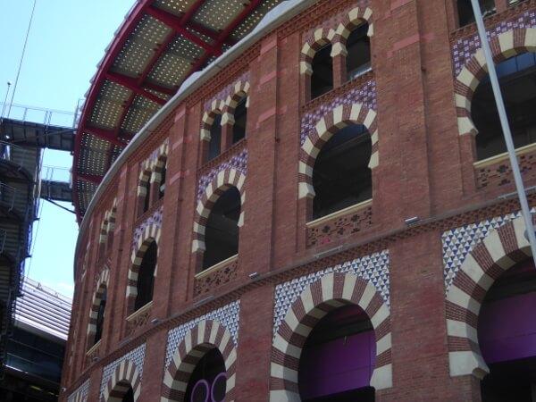 Barcelona Stierkampfarena Shopping