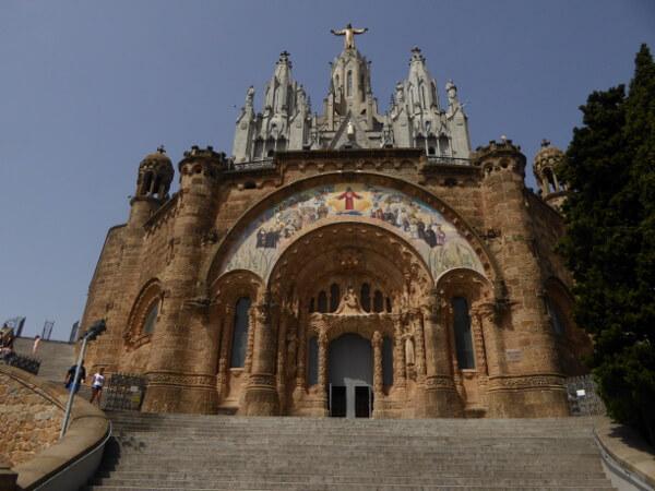 Barcelona tibidabo Sagrat cor