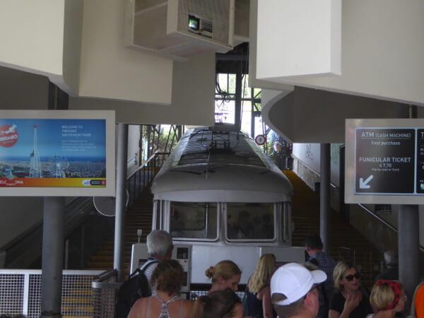 Barcelona tibidabo Seilbahn Funicular