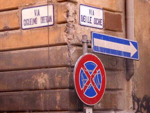 Bologna Via delle Ocche