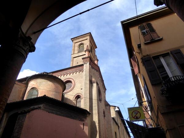 Bologna in der Altstadt
