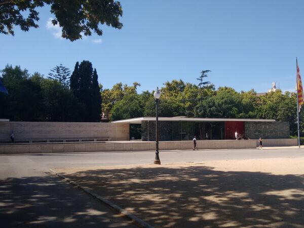 Deutscher Pavillon Barcelona Mies van der Rohe