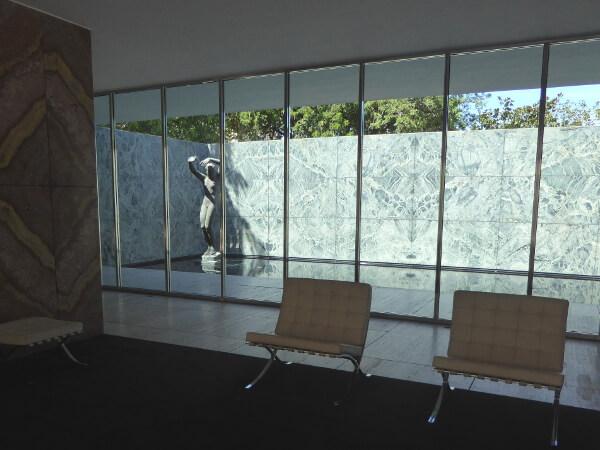 Deutscher Pavillon Weltausstellung Barcelona Mies van der Rohe