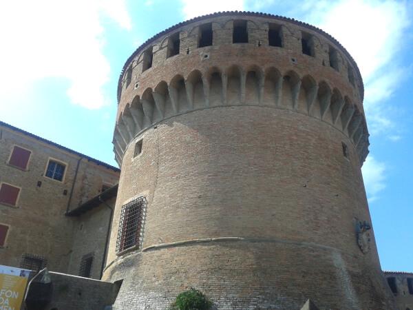 Dozza Burg der Sforza