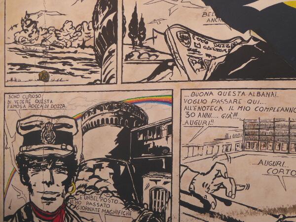 Dozza biennale del Muro dipinto Comic