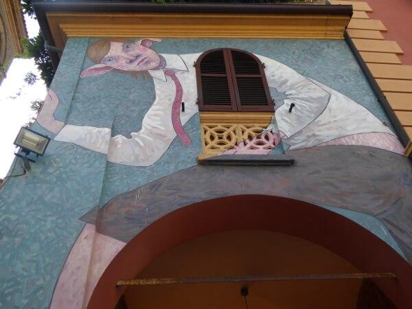 biennale del Muro dipinto Hobbit