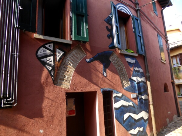 Dozza biennale del Muro dipinto afrikanisch