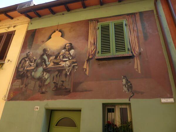 biennale del Muro dipinto frauen am tisch