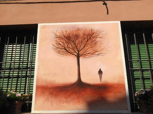 biennale del Muro dipinto herbst