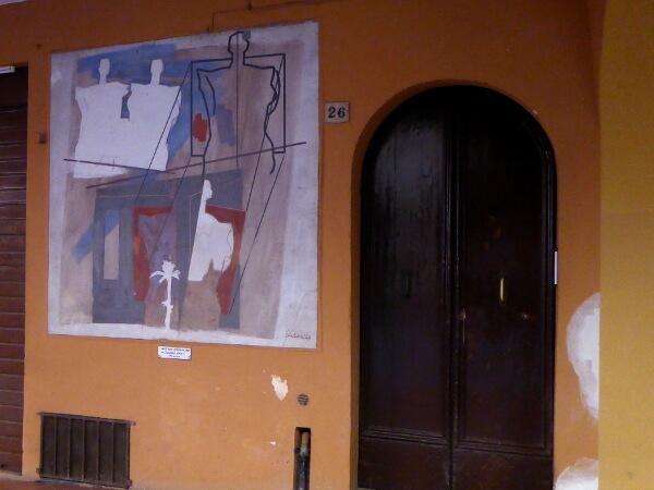 biennale del Muro dipinto modern