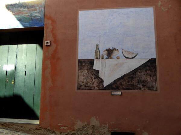 biennale del Muro dipinto stilleben