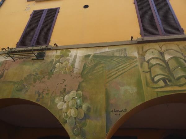 Dozza biennale del Muro dipinto wein