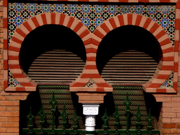 Fenster in Triana Sevilla