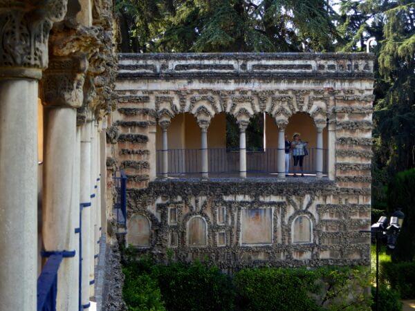 GAlerie Gärten Alcazar Sevilla