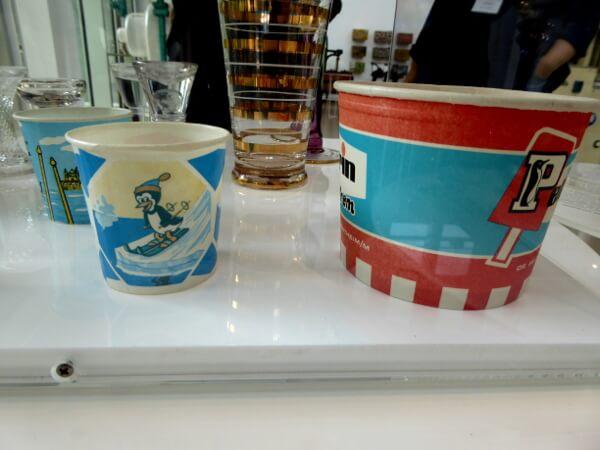 Gelato Museum deutscher Becher Eis