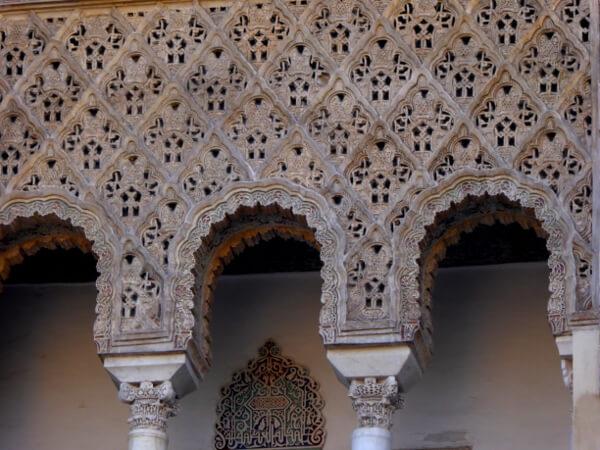 Ornamente Sevilla Alcazar eingang
