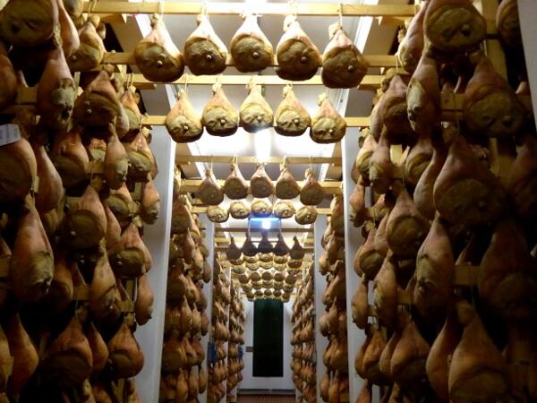 Parma Schinken Prosciutto di Parma Kathedrale