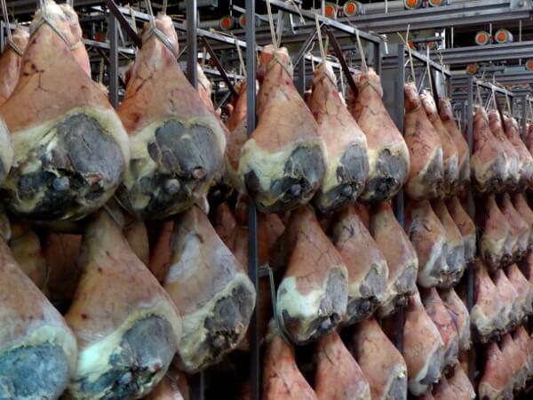 Parmaschinken Trocknen Parma