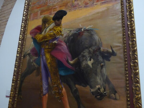 Sevilla Stierkampf Arena Museum Torero gemälde