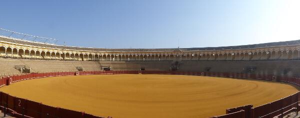 Sevilla Stierkampf Arena Panorama