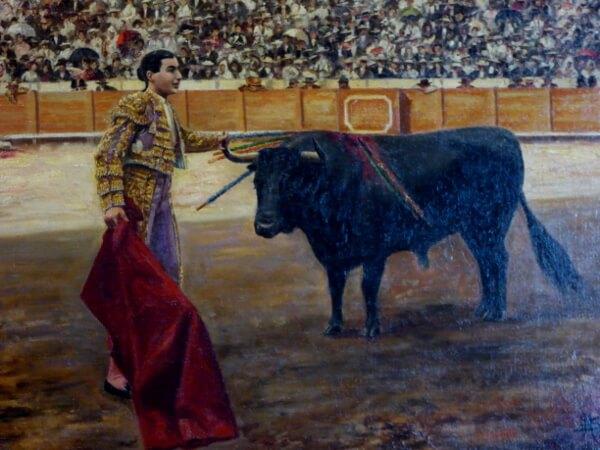 Sevilla Stierkampf Gemälde