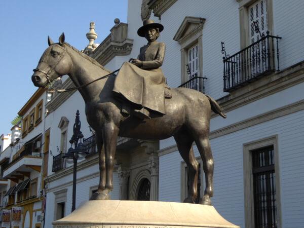 Sevilla Stierkampfarena Denkmal