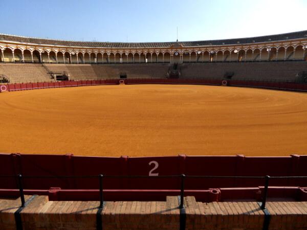 Stierkampf Arena Sevilla