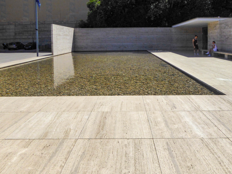 barcelona pavillon mies van der rohe pavello alemany