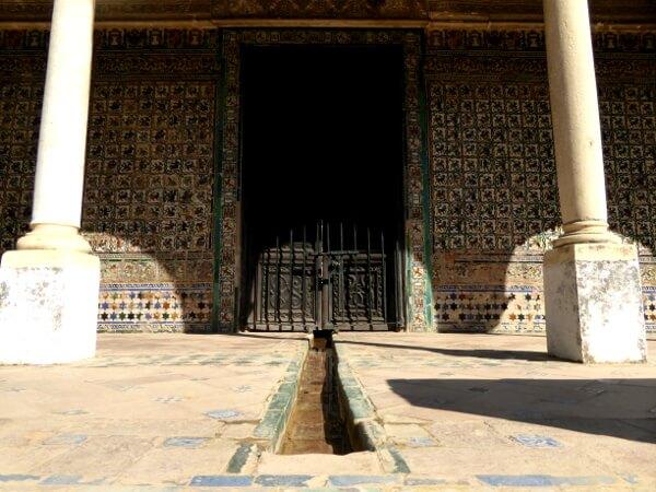 garten Haus Palast Alcazar Sevilla