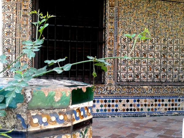 gartenhaus real Alcazar de sevilla