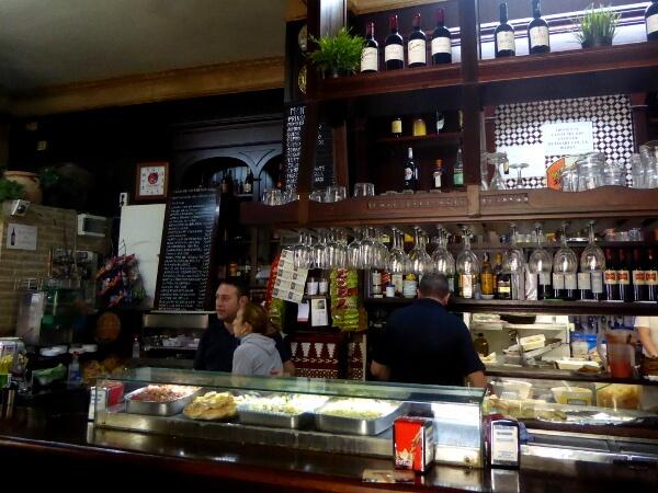 tapas Bar Sevilla Santa Cruz