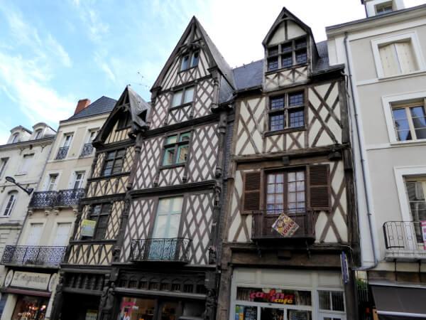 Angers Fachwerkhäuser