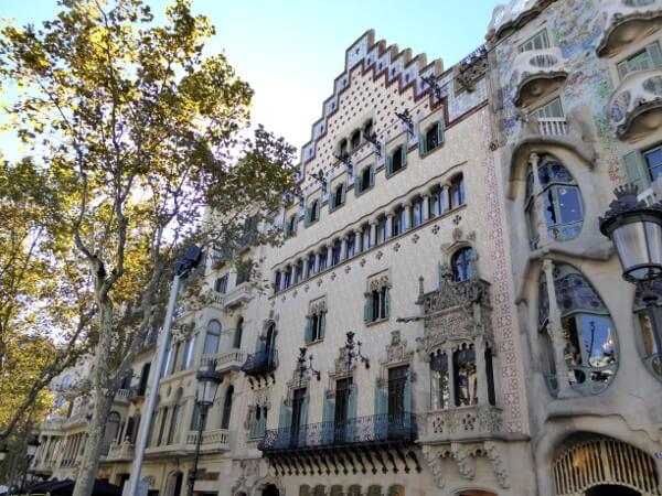 Barcelona Casa Amatller Manzana de la discordia