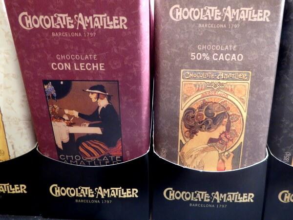 Barcelona Chocolate Amatller