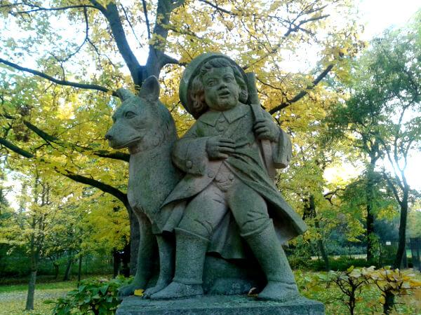 Berlin Herbst volkspark Friedrichshain