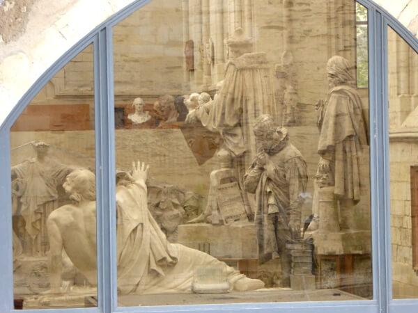 Blick auf Galerie DAvid d Angers