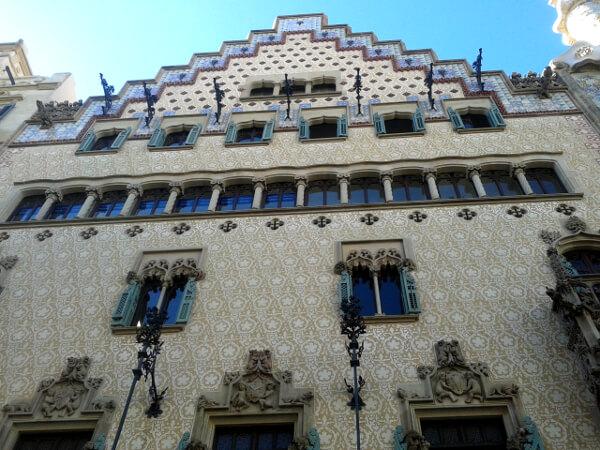 Casa Amatller Barcelona Fassade
