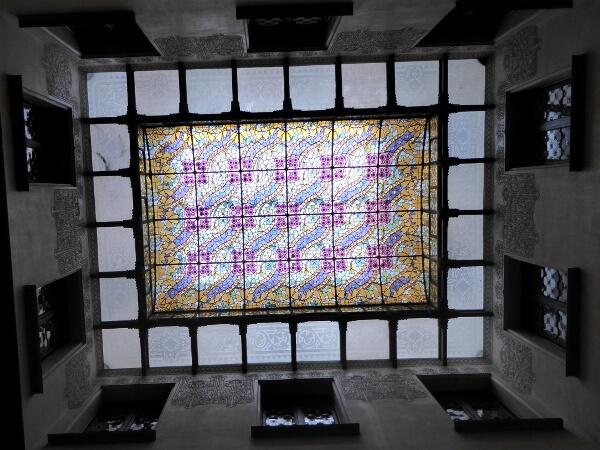 Casa Amatller Barcelona Glasdach Treppenhaus