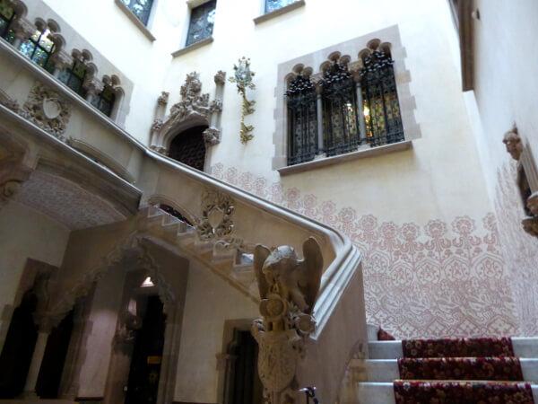 Casa Amatller Barcelona Treppenhaus