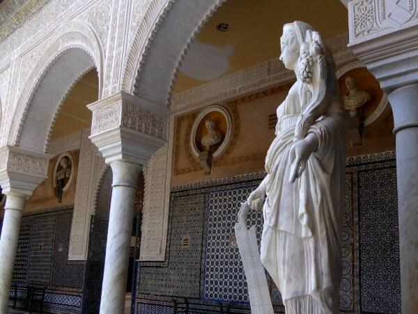 Innenhof Casa pilatos Sevilla