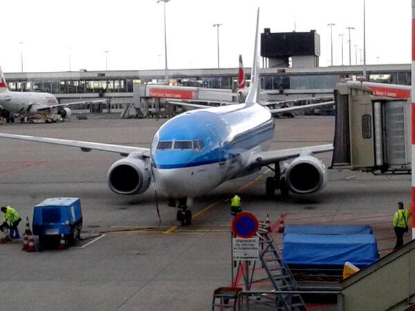 KLM FLUG