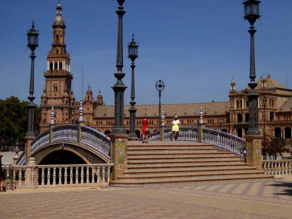 Plaza España Park Maria Luisa Sevilla