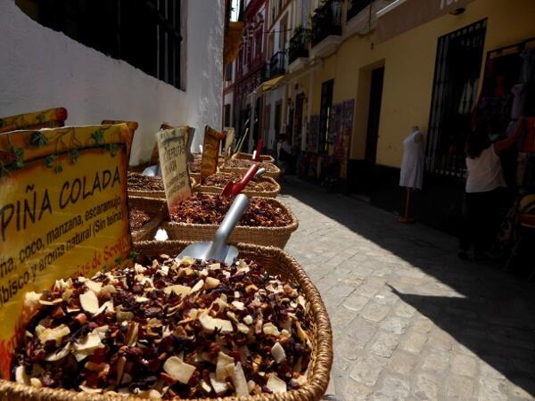 Sevilla Altstadt Santa Cruz