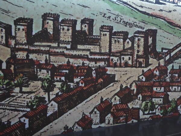 Sevilla Castillo san jorge alte stadtansicht