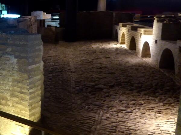 Sevilla Castillo sant jorge inquisition ausgrabung museum