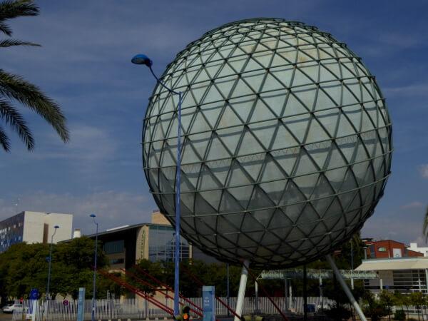 Sevilla Expo Gelände