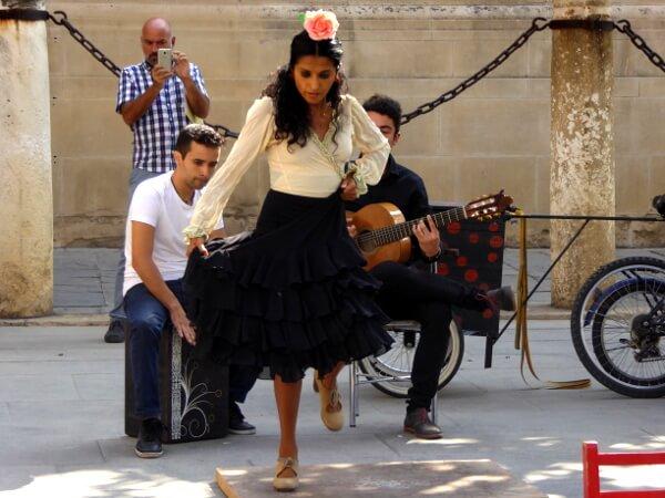 Sevilla Flamenco Tänzerin