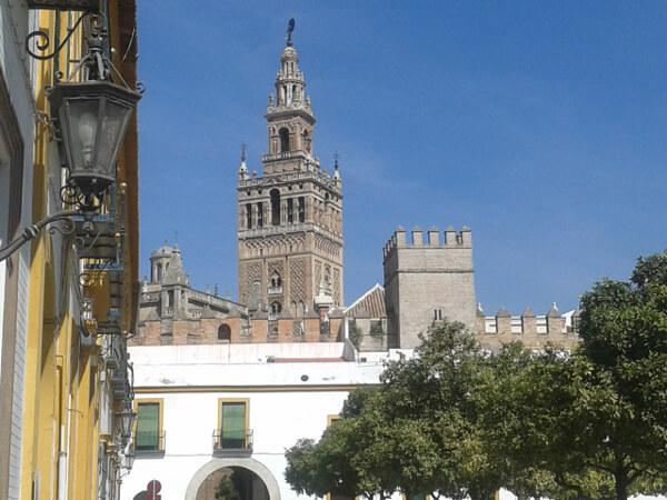 Sevilla blick auf Giralda