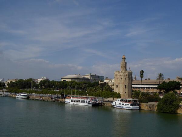 Sevilla bootsfahrt Guadalquivir